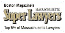 Rated by Boston Magazine's Super Lawyers